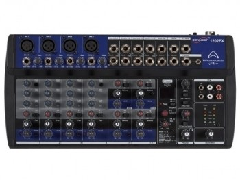 Wharfedale CONNECT1202FX The Pro Connect 1202 FX is a high quality micro-mixer, suitable for a wide range of applications.