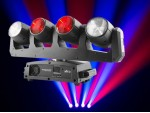 Chauvet INTWAVE360 Intimidator Wave 360 - 4 x 12W RGBW LED Moving Heads on one moving base