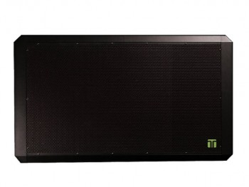 Tectonic PL11NRBK Standard Black Single DML Horizontal Panel - no ribbon