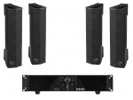Wharfedale SIGMAV4P1 4 x SIGMAV4 Installation Speakers, 1 X CPD1000 Power Amp